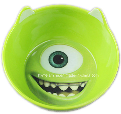 Kids Melamine Bowl with Cartoon Logo (BW7362)