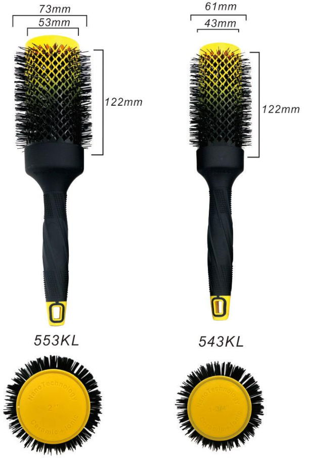 Plastic Handle Hair Brush