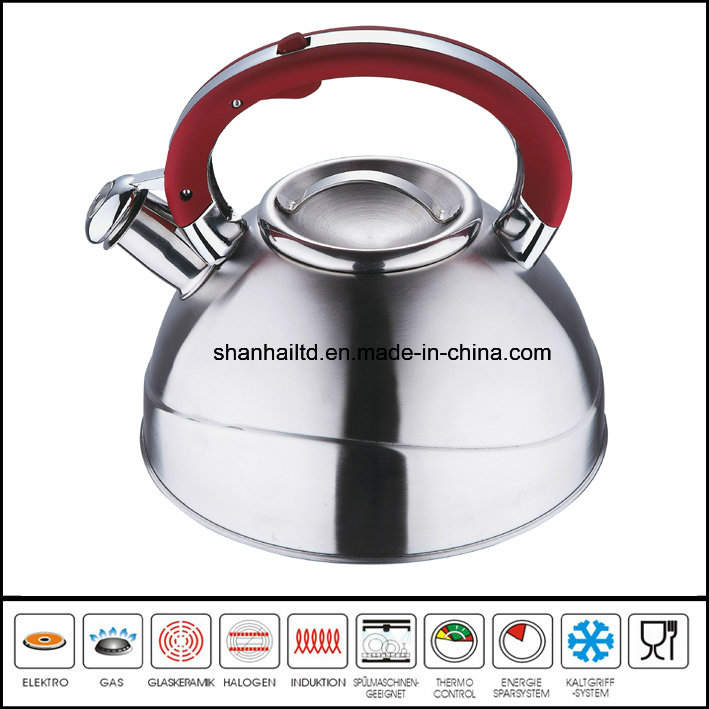 High Quality Stainless Steel Whistling Kettle
