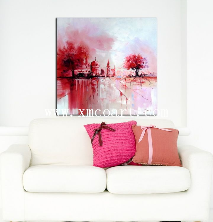 2015 Canvas Oil Painting for Living Room (New-553)