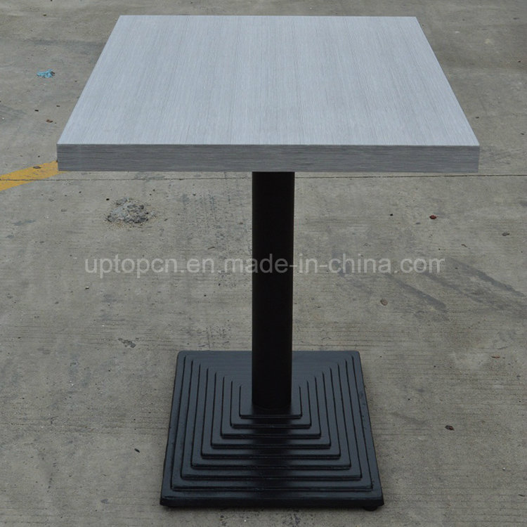 Commerical Rectangle Wood Top Restaurant Table for Dining (SP-RT395)