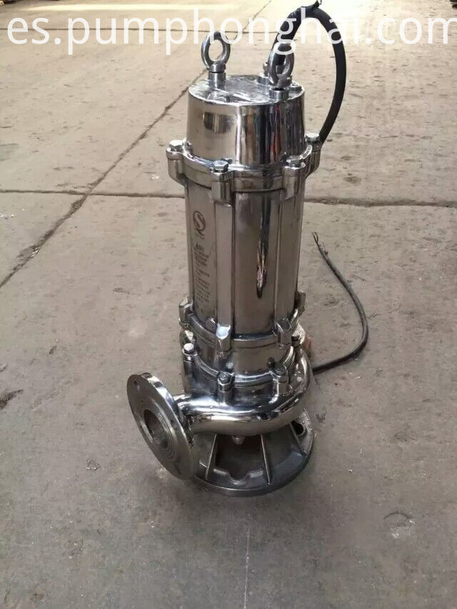 stainless steel material pump