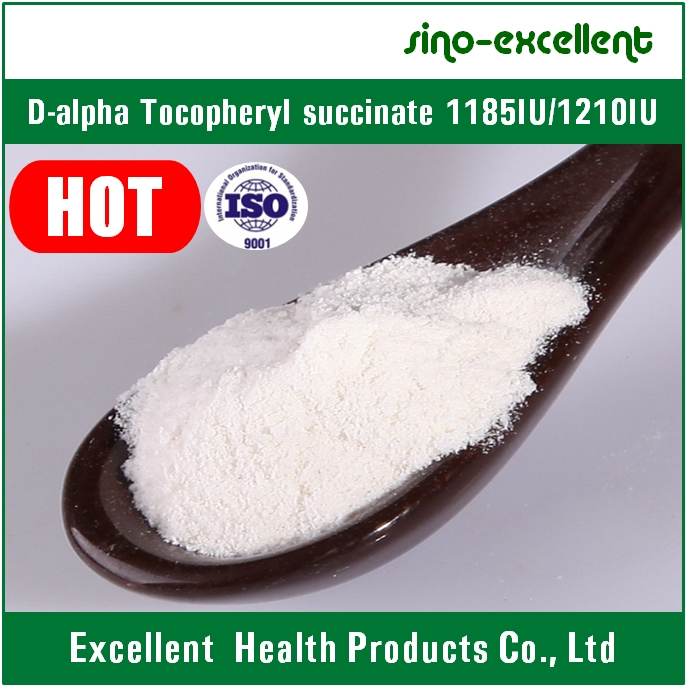 Supply D-Alpha Tocopheryl Succinate 1185iu/1210iu
