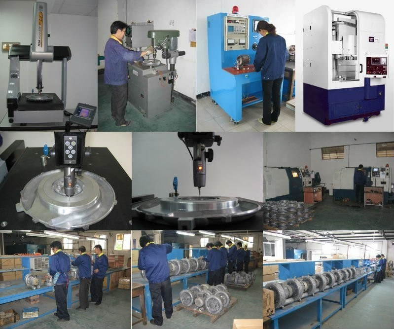 High Quality Air Cold Vacuum Industry Blower for CNC Machine