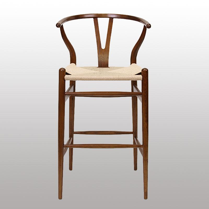 New Design Wooden Bar Chair