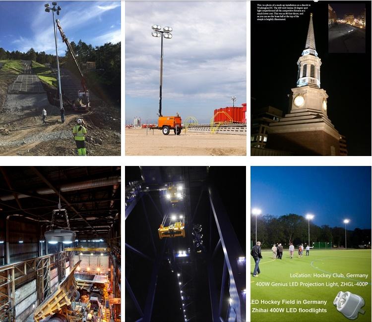High Power Outdoor Football Field 400W LED Floodlight