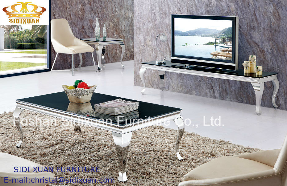 Coffee Table / Stainless Steel Coffee Table / Marble Top Coffee Table / Modern Coffee Table /Tea Table Sj813