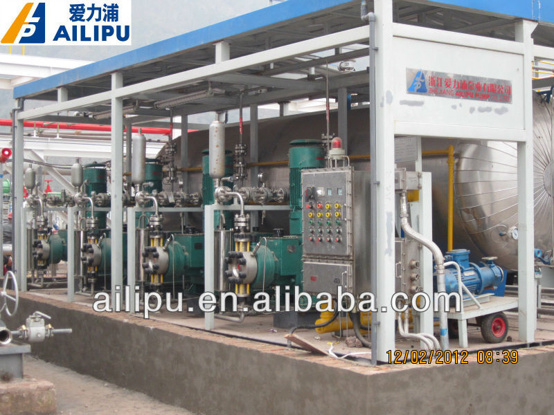 Methanol injection skid