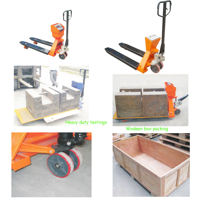 Electronic Digital Pallet Scale Forklift Scale