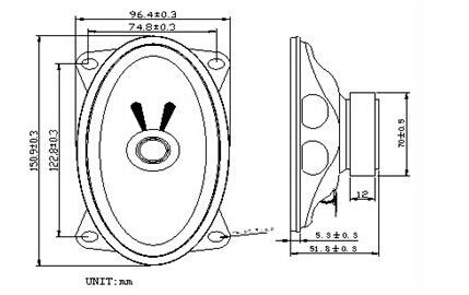 Loud Speaker Electronic Speaker 8ohn 1W Speaker
