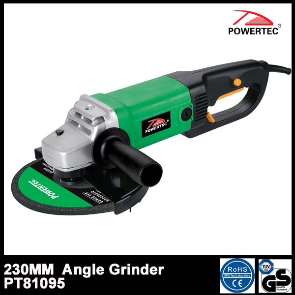 Powertec 2000W Electric 230mm Angle Grinder (PT81095)