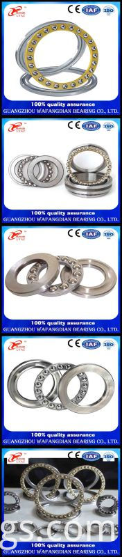 51100 Single Direction Thrust Ball Bearing