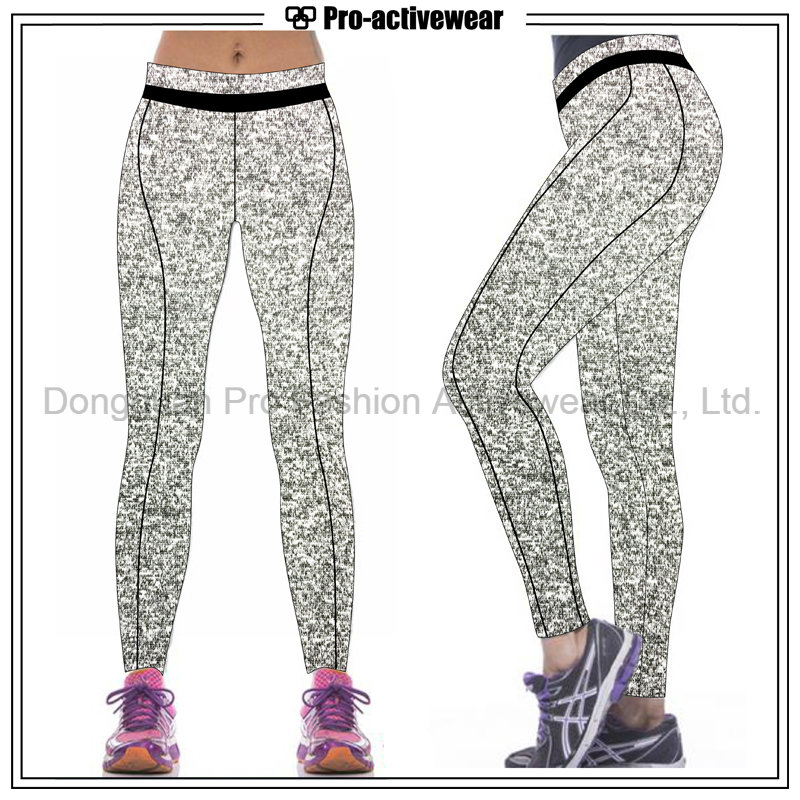 Moisture Wicking Custom Made Private Label Ladies Yoga Pants
