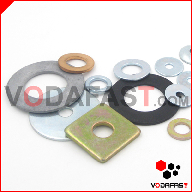 DIN 434 Plain Steel Square Wedge-Shaped Washer for U Section