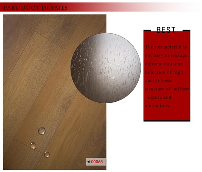 Crystal High Definition Merbau HDF Wooden Laminated Flooring