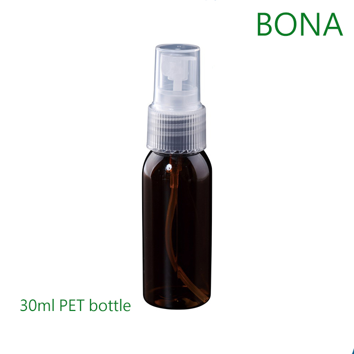 30ml Green Pet Bottle with Mist Sprayer