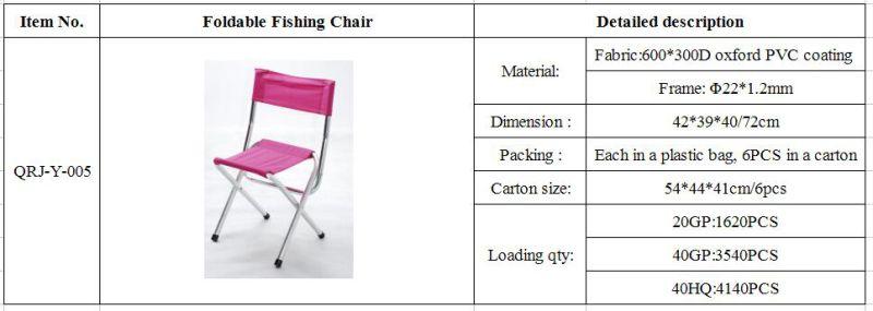 Foldable Fishing Chair