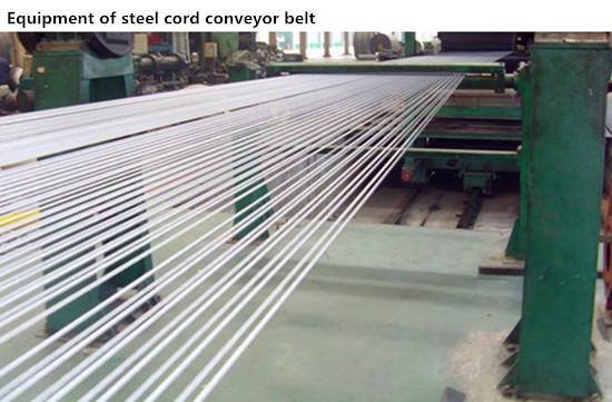Flame Resistant High Performance Steel Cord Conveyor Belt