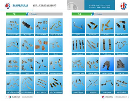 Precision Copper Part Turning Part (HS-CS-007)