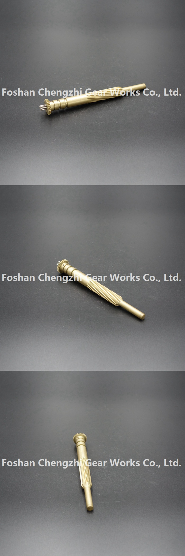 High Precision Customized Brass Transmission Small Spline for Various Machinery