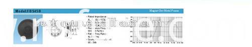 Fbs45b New Arrival Hot Sell 45mm Cheaper Loudspeakers 0.25W (FBELE)