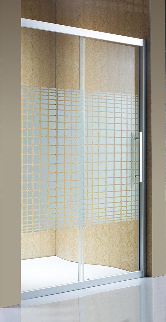 Sanitary Ware Simple Glass Shower Door