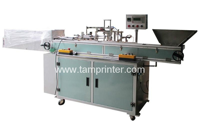 Automatic Flat Round Candle Pen Screen Printing Machine