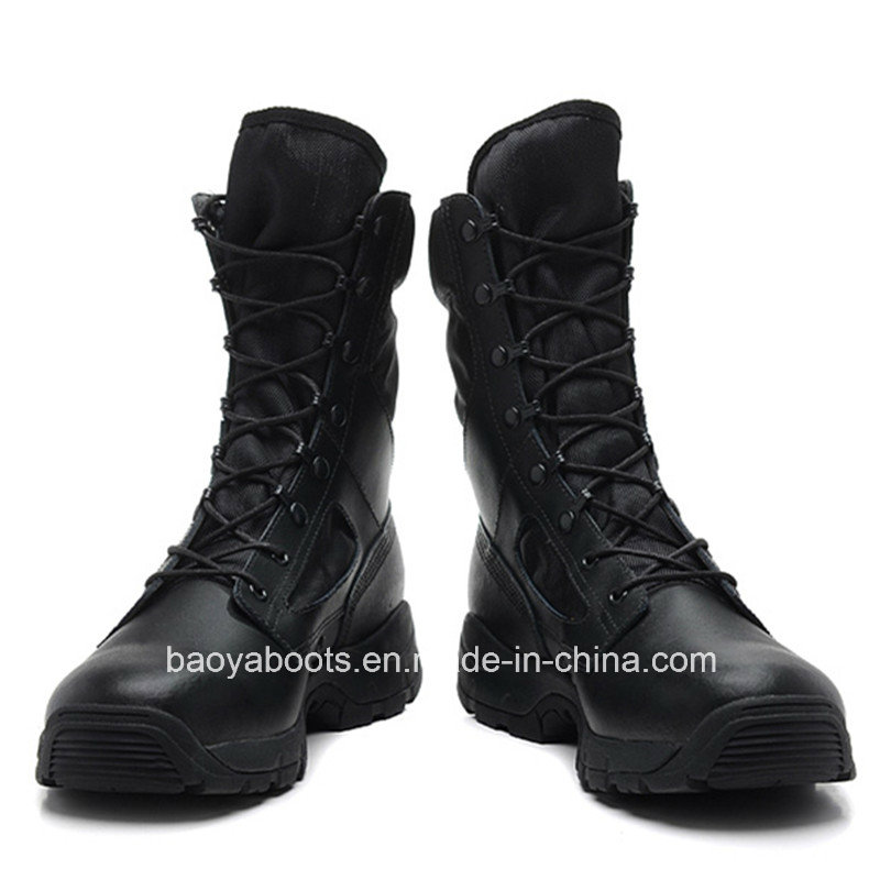 Hot Sell Black Tactical Boots (1862)