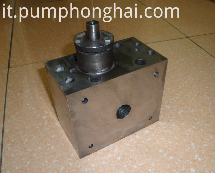 HHRJ high viscosity hot melt glue gear pumps