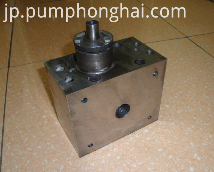 HHRJ series hot melt glue gear pump
