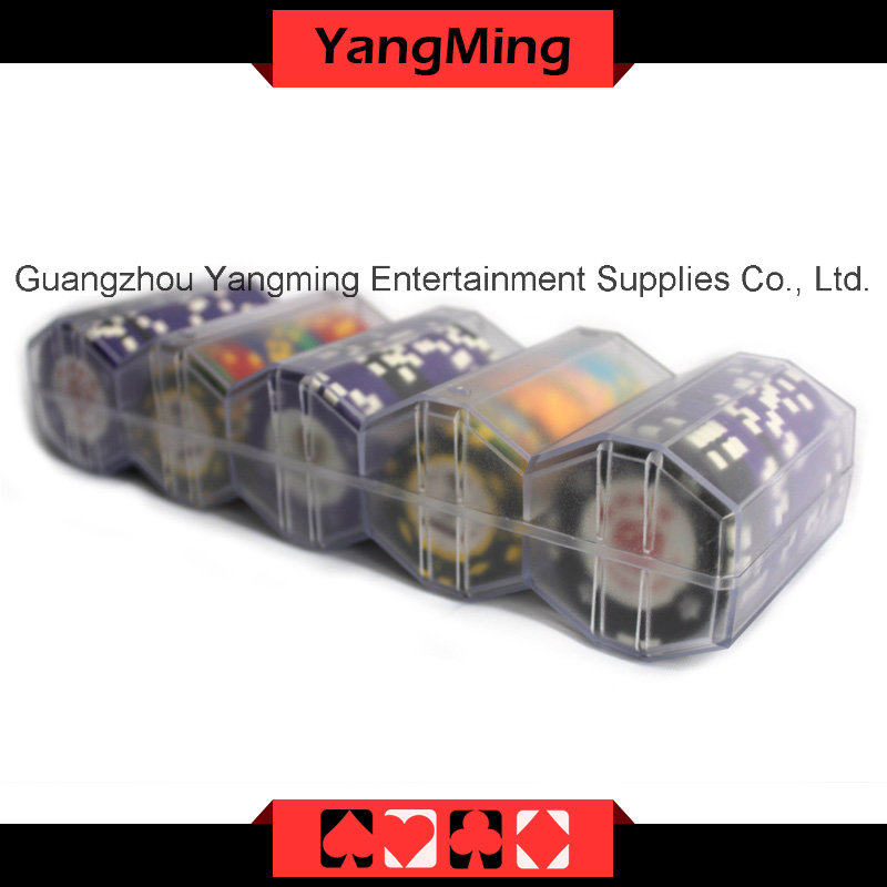 Transparent Acrylic Chips Case-2 (YM-CT12)