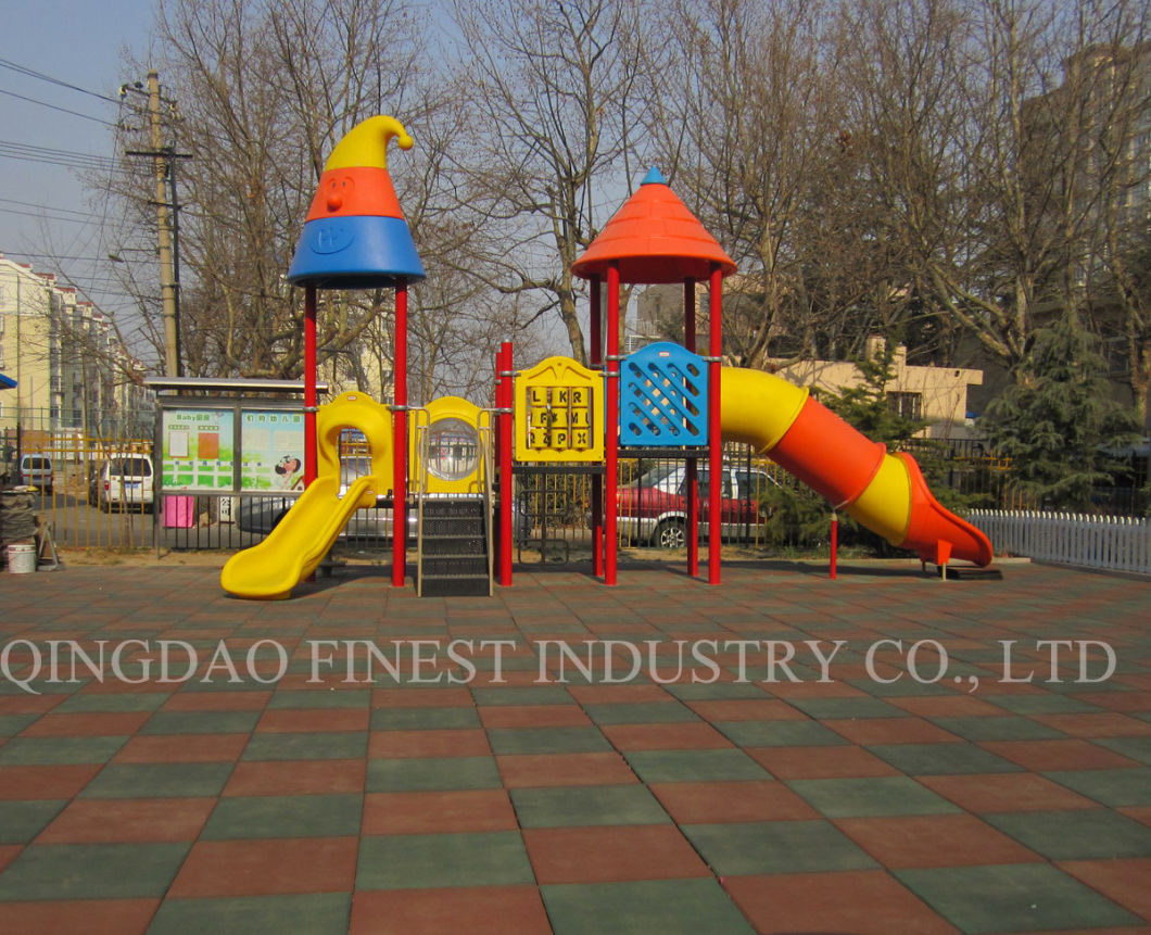 Outdoor Safety Playground Rubber Flooring Tile