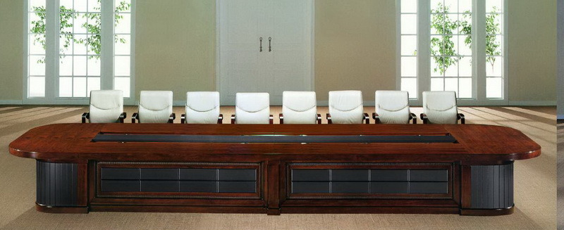 High Quality Large Size Boardroom Modern Wooden Conference Table (OD5533)
