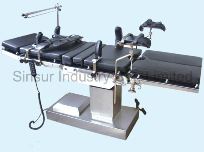 Hot Sale! Mobile Electric Operating Room Medical Hospital Tables