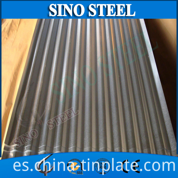 ASTM A653 Zinc Galvanized Corrugated Steel Wave Roofing Sheet