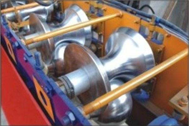 Ridge Cap Roll Forming Machine/Ridge Cap Tile Forming Machine/Ridge Cap Colour Coated Tile Machine