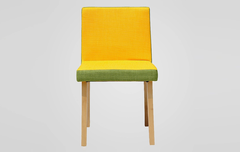 Colorful Fabric Wooden Dining Chairs with New Design