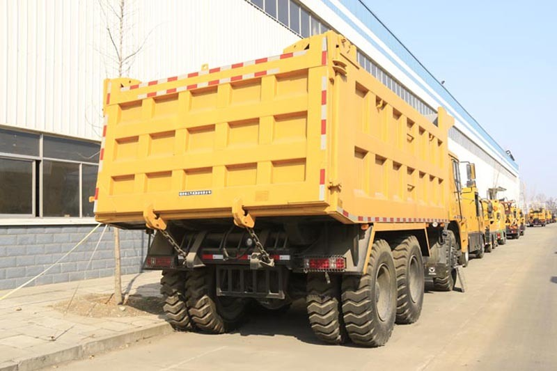 Hw7d Cab Mining Heavy Dump Tipper Tuck (WD615.47T2)