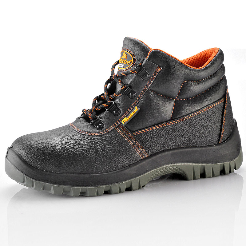 Hot Selling Cheap Brand Steel Toe Industrial Safety Shoes