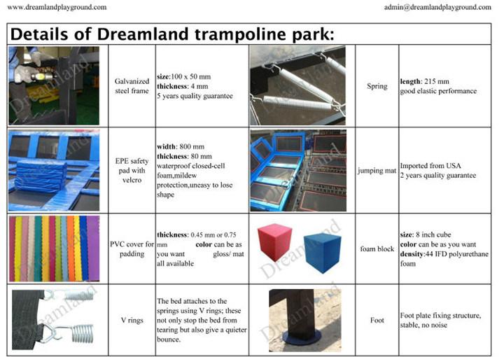 Amusement Indoor Trampoline Park Soft Play Foam Sponge Pit
