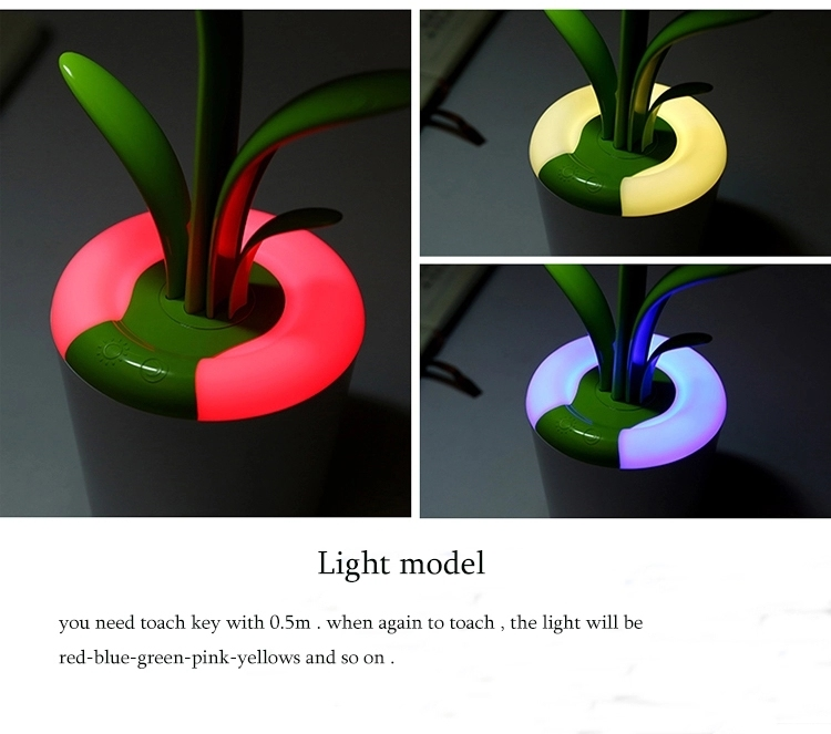 Creative USB Clivia Desk Lamp Eye Care USB LED Reading LED Lights
