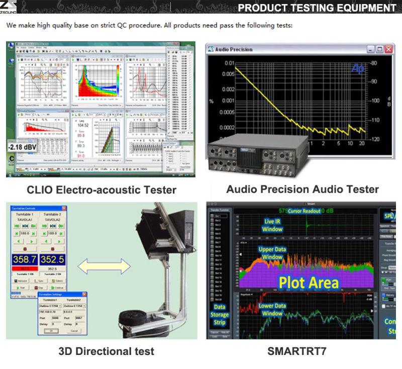 Professional Line Array Audio Speaker