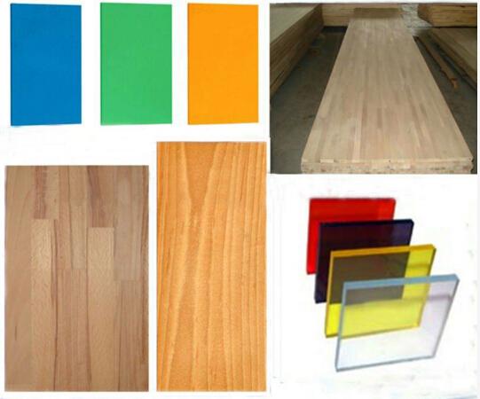 Semi-Automatic Line PVC Wood Plastic Plate Surface Laminating Machine