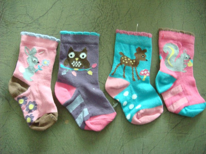 Good Quality Baby Cotton Socks Made From Famous Brands