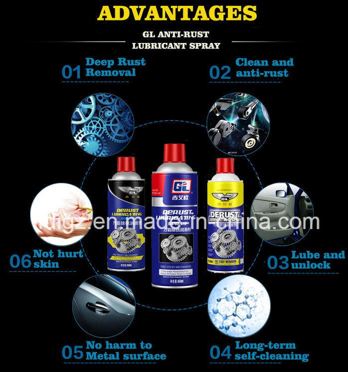 Hot Selling Rust Preventive Oil Spray