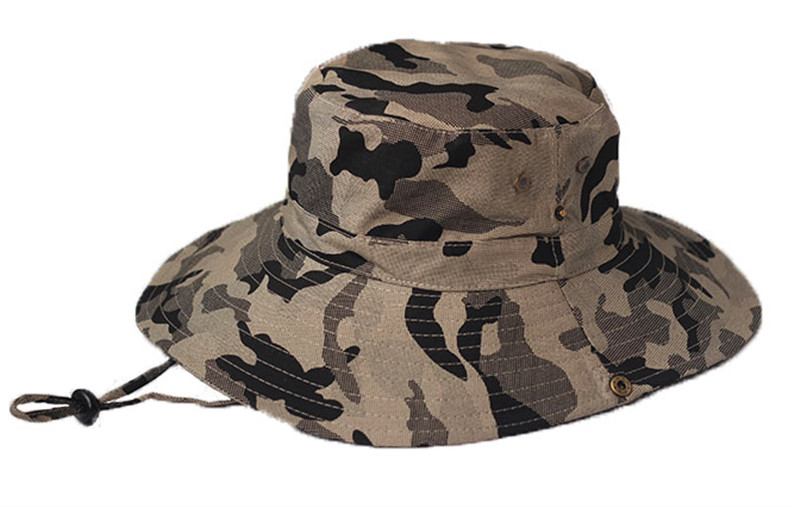 Charming Camouflage Caps Beach Cap Bucket Hat