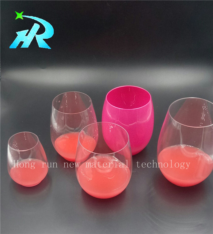 Plastic Plated Gold Wine Glass Coffee Cup