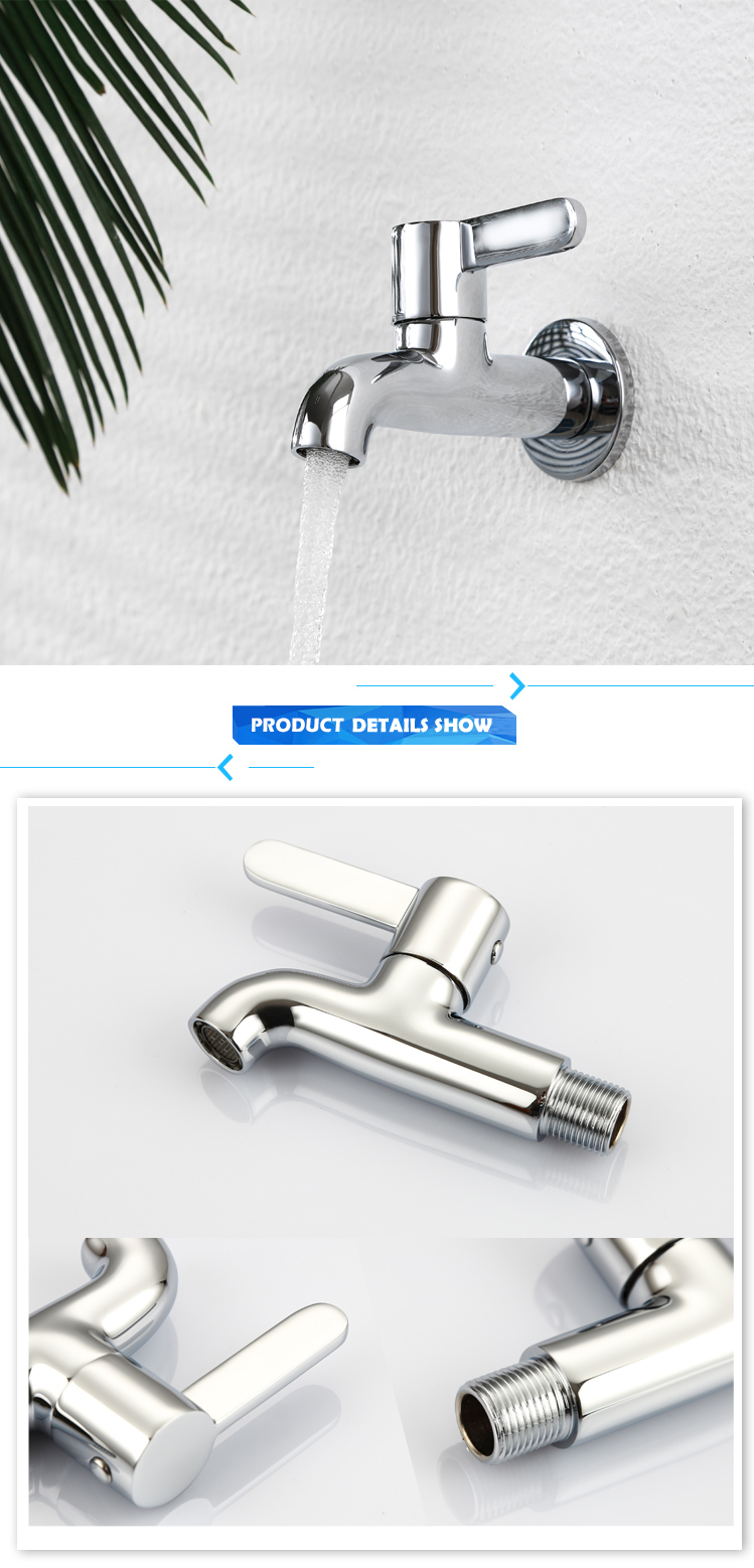 Hot Selling Cold Water Brass Body Single Lever Tap