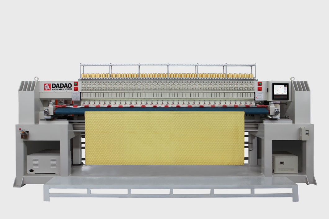 Intellectualized Computerized Quilting Embroidery Machine with Double Rows (GDD-Y-217*2)
