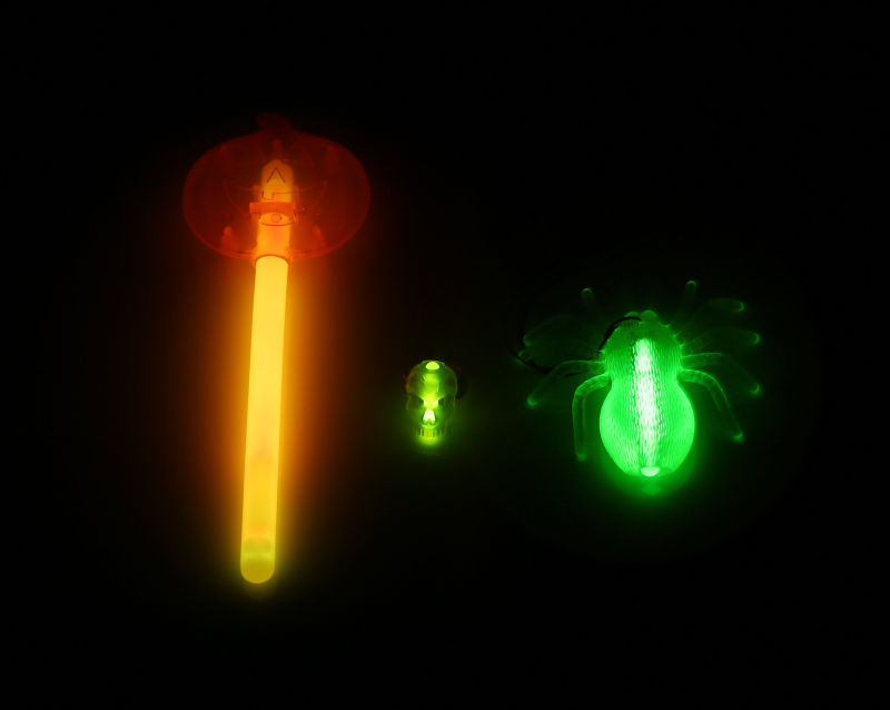 New Halloween Set with Glow Spide (HLW002)